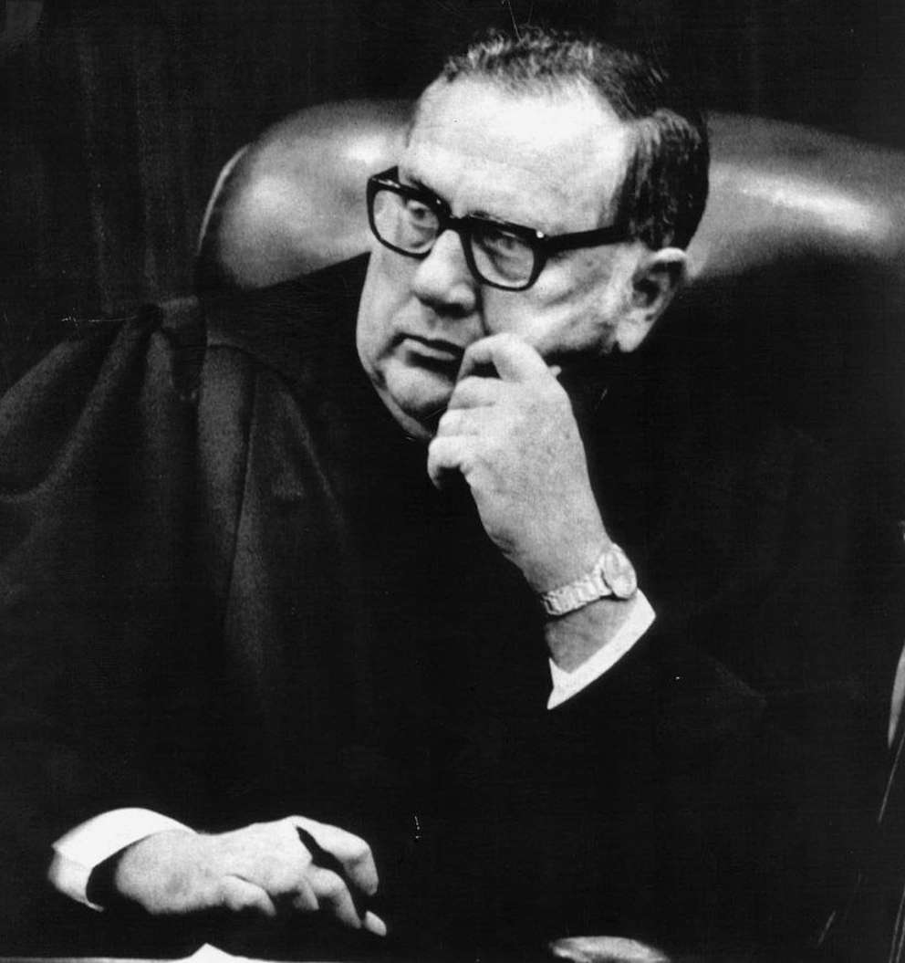 Judge Edward Cowart presided over the Bundy murder trial in Miami. [Times archives]
