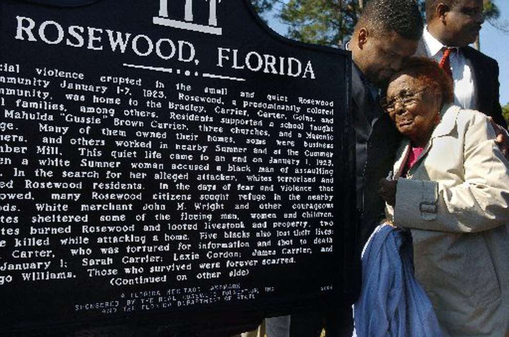 rosewood incident florida