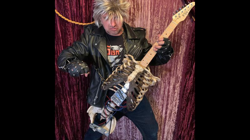 Tampa man who 'built guitar from uncle's skeleton' sure looks familiar