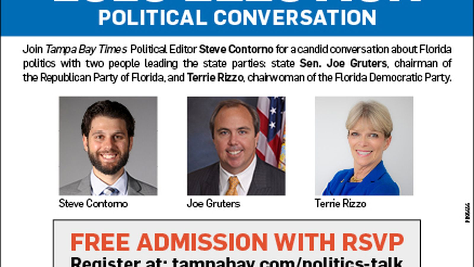 Join us for an Election 2020 conversation with Florida's top ...