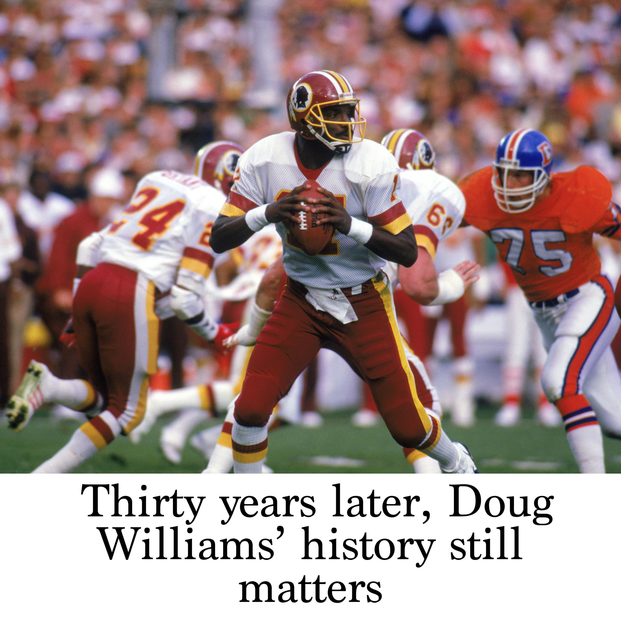 san francisco 0aac0 9377a Thirty years later, Doug Williams' history still matters