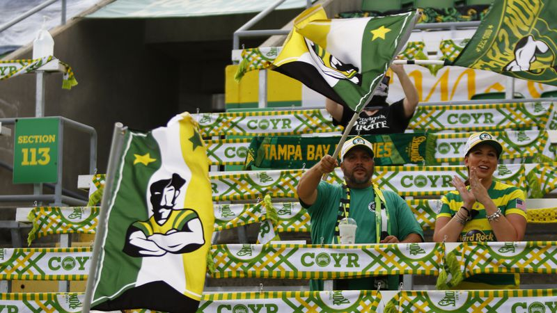 Rowdies set for Group H showdown against Charleston Battery at Al Lang Stadium