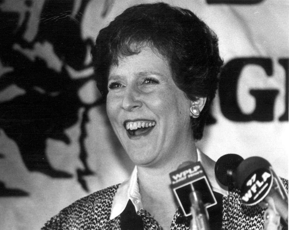 Sandra W. Freedman was the first female mayor of Tampa. [Times archives]