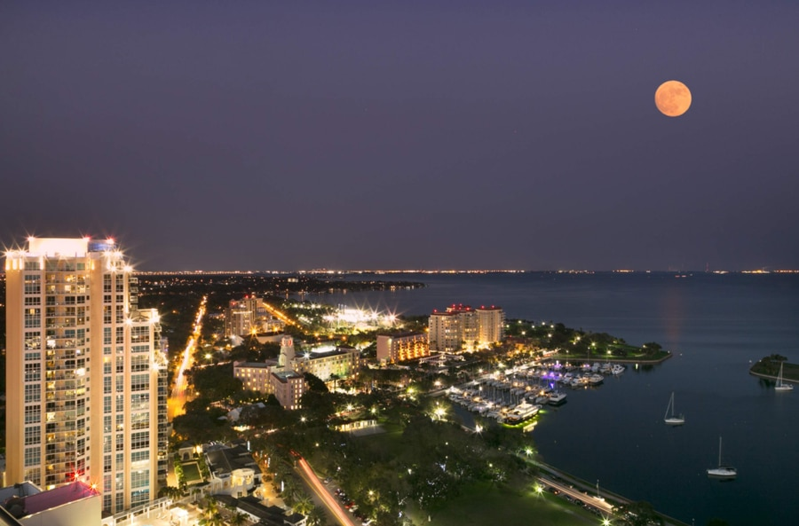 Two penthouses sold at Parkshore Plaza in St. Petersburg made the top 25 list, including one sold for $3.495 million. [Courtesy of Amy Lamb/Native House Photography]