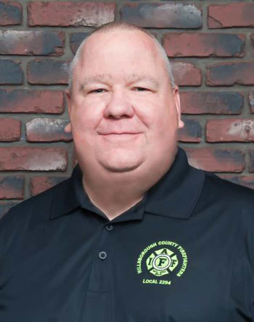 Derrik Ryan, president of the International Association of Firefighters Local 2294, the union that represents Hillsborough County Fire Rescue firefighters.