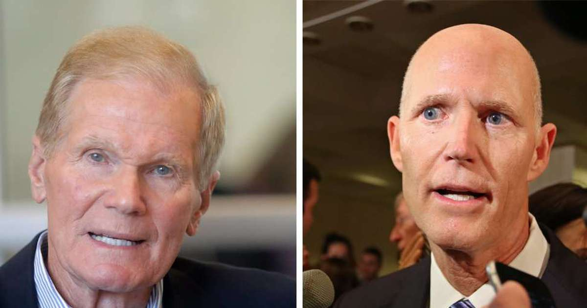 Rick Scott says Bill Nelson should prove his claim Russians have hacked Florida's elections