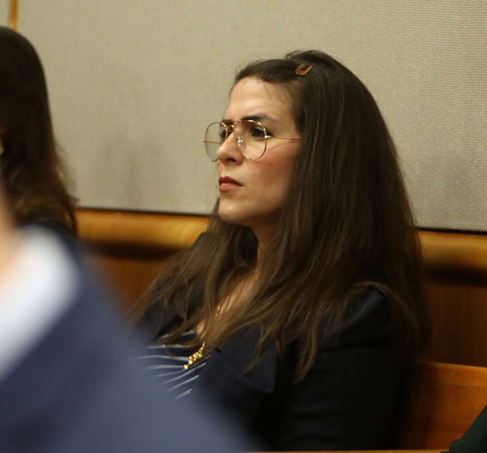 Dr. Emily Lazarou watches the murder trial of John Jonchuck. SCOTT KEELER | Times