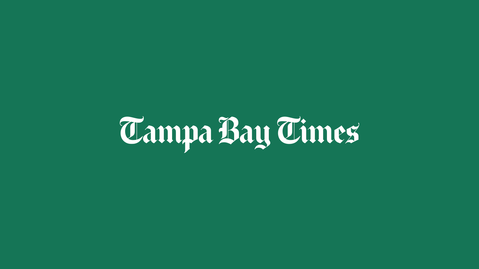 Tampa Bay, Florida news | Tampa Bay Times/St. Pete Times | Tampa Bay Times